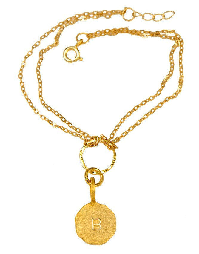 B20I-G Initials Collection Bracelet Charlene K Jewelry