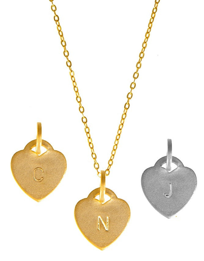 IP20H Initials Collection Pendant Charlene K Jewelry