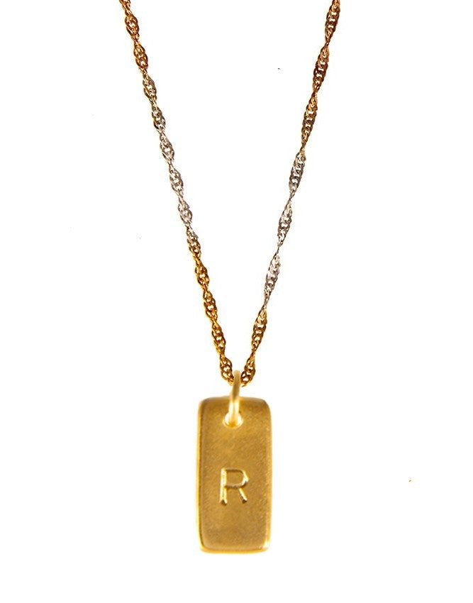 IP20R3 Initials Collection Pendant Charlene K Jewelry