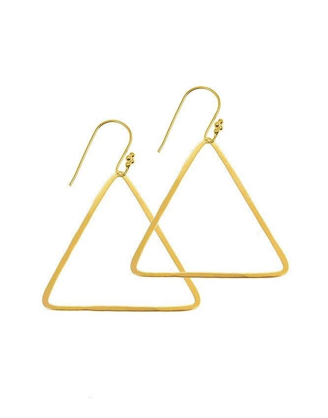 ETR-HH Triangle Collection Earrings Charlene K Jewelry