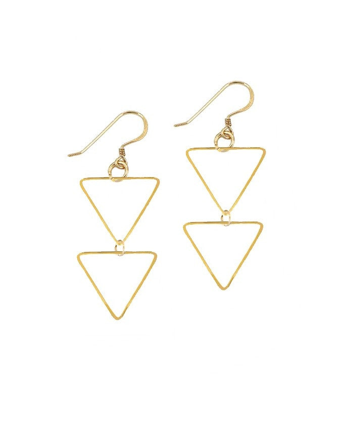 ETRD-HH Triangle Collection Earrings Charlene K Jewelry