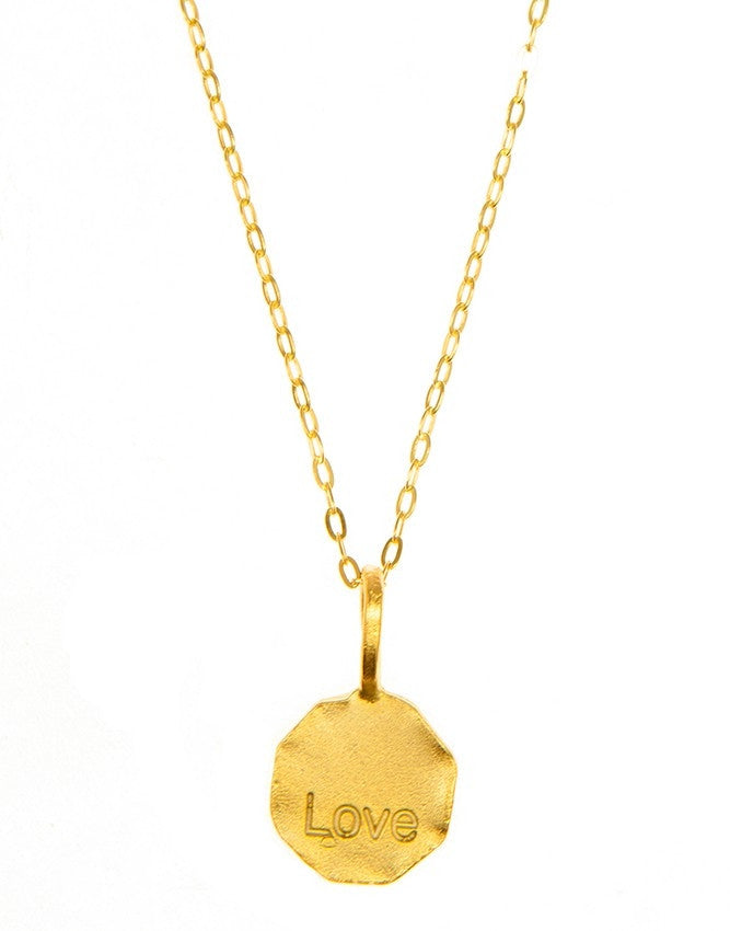 P20W-Love Word Pendant Charlene K Jewelry