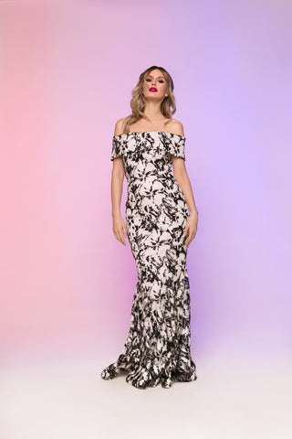 Bloomtown Shahida Parides Hi/Low Dress