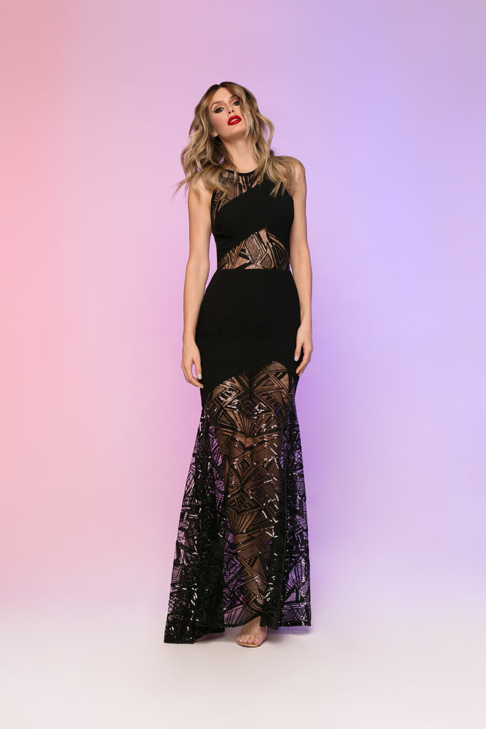 6813 Nicole Bakti Dress