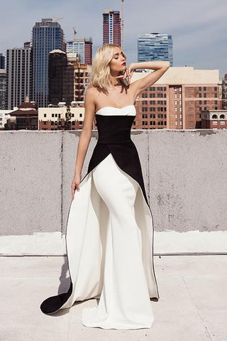 Ambar Cream Baccio Couture Top and Skirt