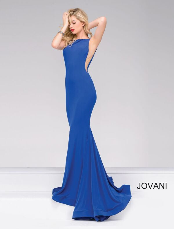 JOVANI 37592 ROYAL BLUE PROM DRESS