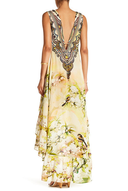 Cherry Blossom Parides Hi Low Dress