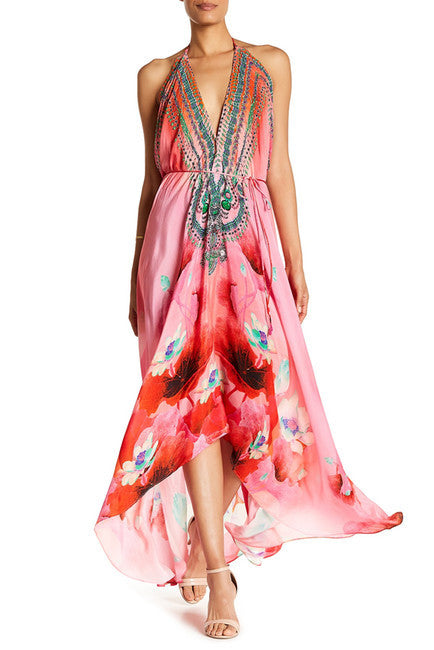 Lotus Flamingo Shahida Parides 3 Way Dress
