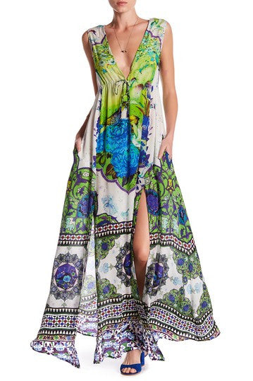 Humming Bird Parides Maxi Dress