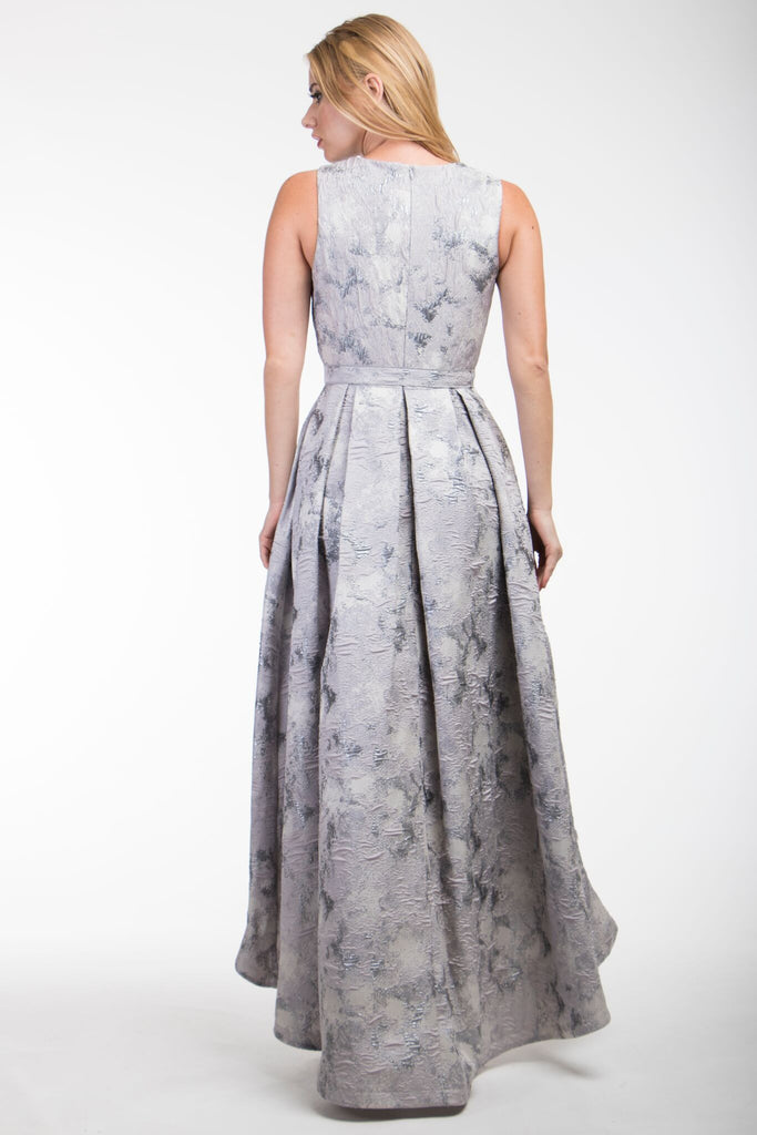 Silver Hi Low Nicole Bakti Dress
