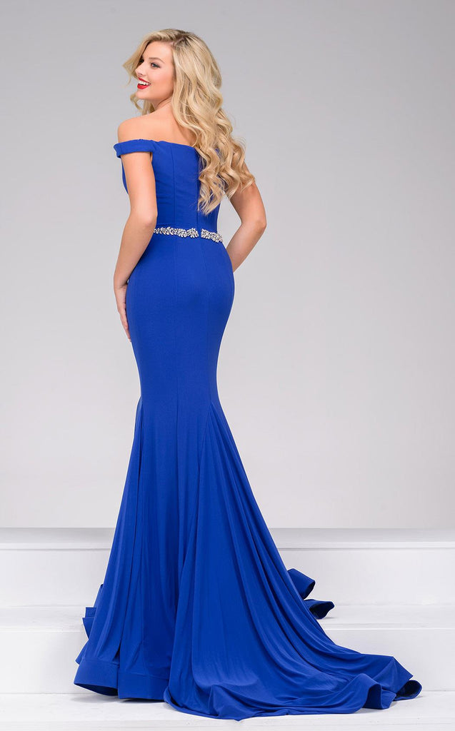JOVANI 49254 CAP SLEEVE DRESS