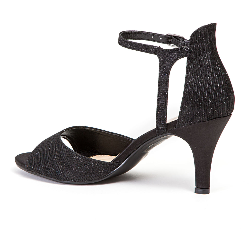 ALICIA BLACK LADY COUTURE SHOES
