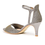 ALICIA CHAMPAGNE LADY COUTURE SHOES