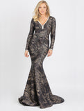 Ashley Long Glitter Baccio Couture Gown