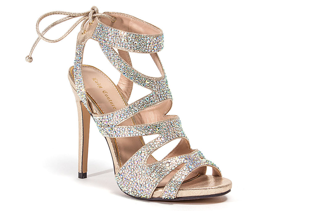 BABE CHAMPAGNE LADY COUTURE SHOES