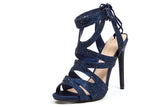BABE NAVY LADY COUTURE SHOES