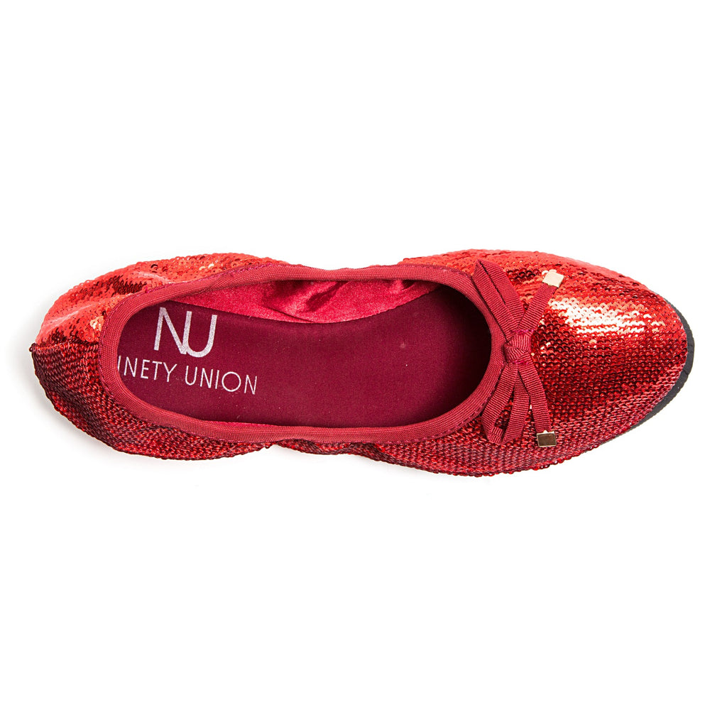 BALLERINA RED LADY COUTURE SHOES