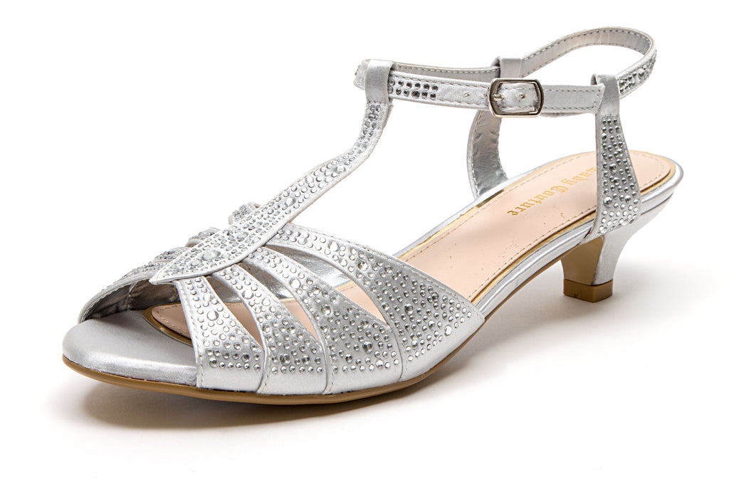BETTY SILVER LADY COUTURE SHOES