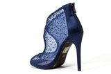 BONITA NAVY LADY COUTURE SHOES