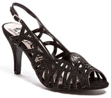 Beauty Black Lady Couture Shoes