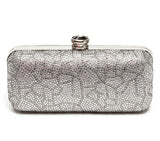 Beauty Silver Clutch Lady Couture