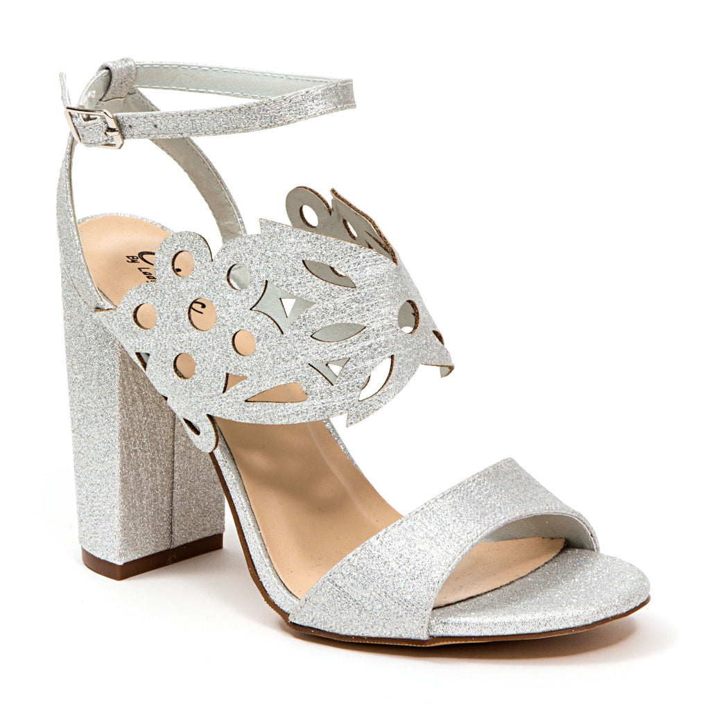 DANI SILVER LADY COUTURE SHOES
