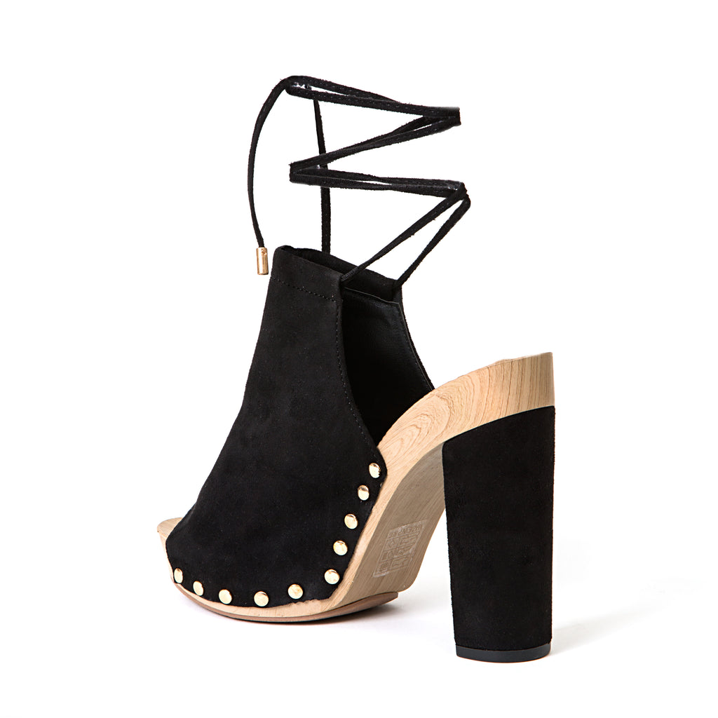 DORA BLACK LADY COUTURE SHOES
