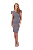 Debbie Carroll Cosmopolitan Zipper Dress