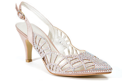 PERLA GOLD LADY COUTURE SHOES