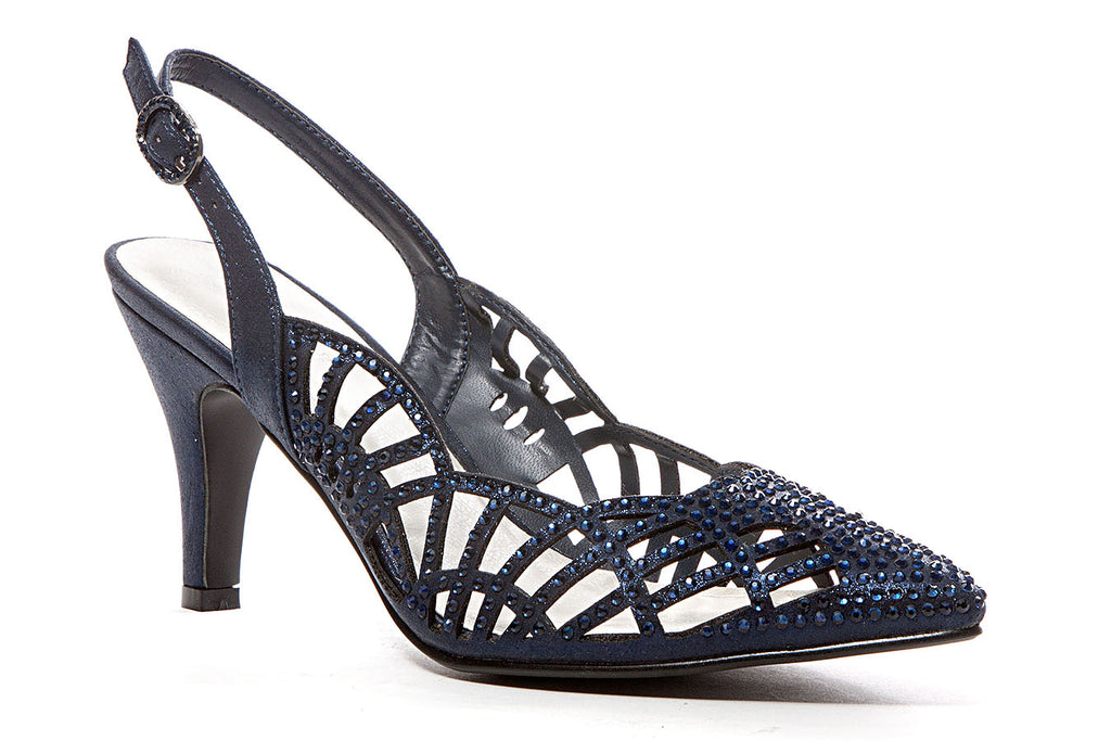 ESTER NAVY LADY COUTURE SHOES