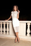 Eliza Jewel Net Nicole Bakti Dress