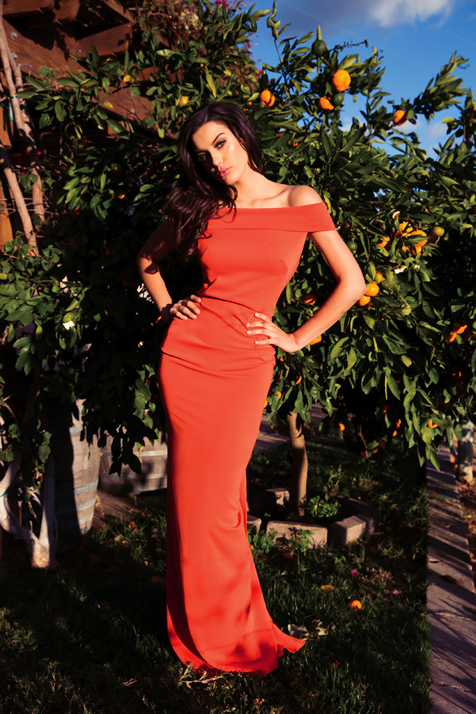 Leilani Off The Shoulder Nicole Bakti Gown
