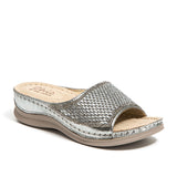 FINE PEWTER LADY COUTURE SHOES