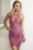Lula Purple Baccio Couture Dress