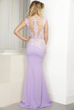 Rocio Purple Baccio Couture Gown
