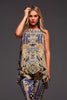 GOLDEN PHARAOH CZARINA TANK TOP