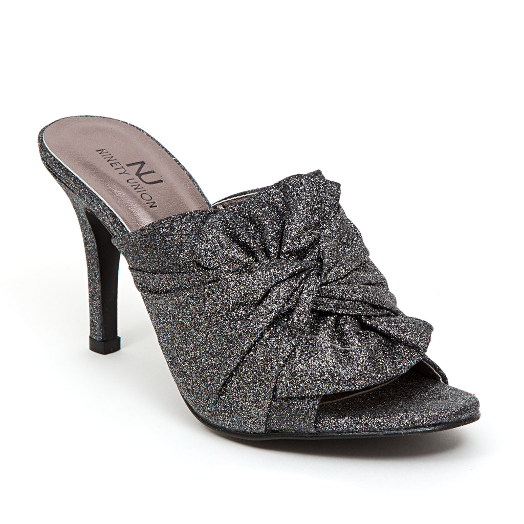GREAT PEWTER LADY COUTURE SHOES