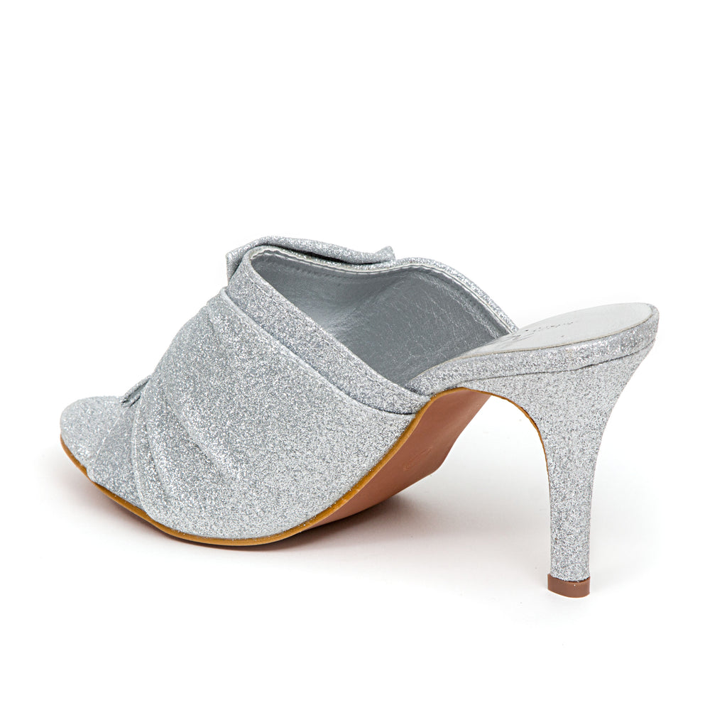 GREAT SILVER LADY COUTURE SHOES