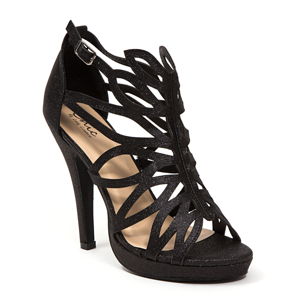 HOLIDAY BLACK LADY COUTURE SHOES