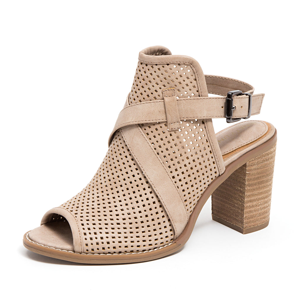 HOPE TAUPE LADY COUTURE SHOES