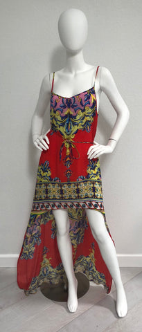 Macaw Cherry Picked Shahida Parides Short Dress