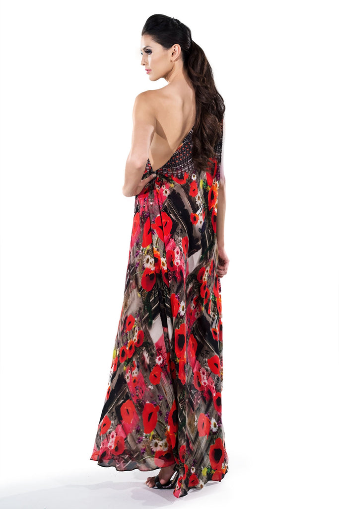 Poppy Infinity Long 3 Way Dress Parides