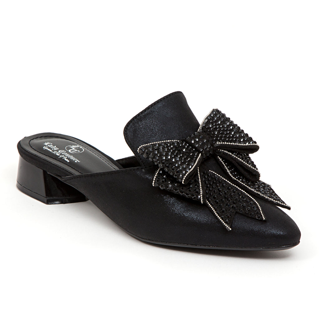 ISABEL BLACK LADY COUTURE SHOES