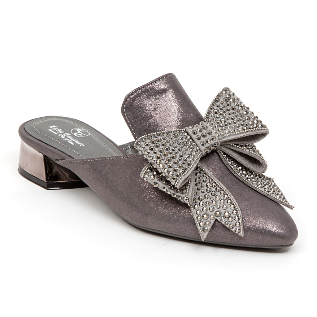 ISABEL PEWTER LADY COUTURE SHOES