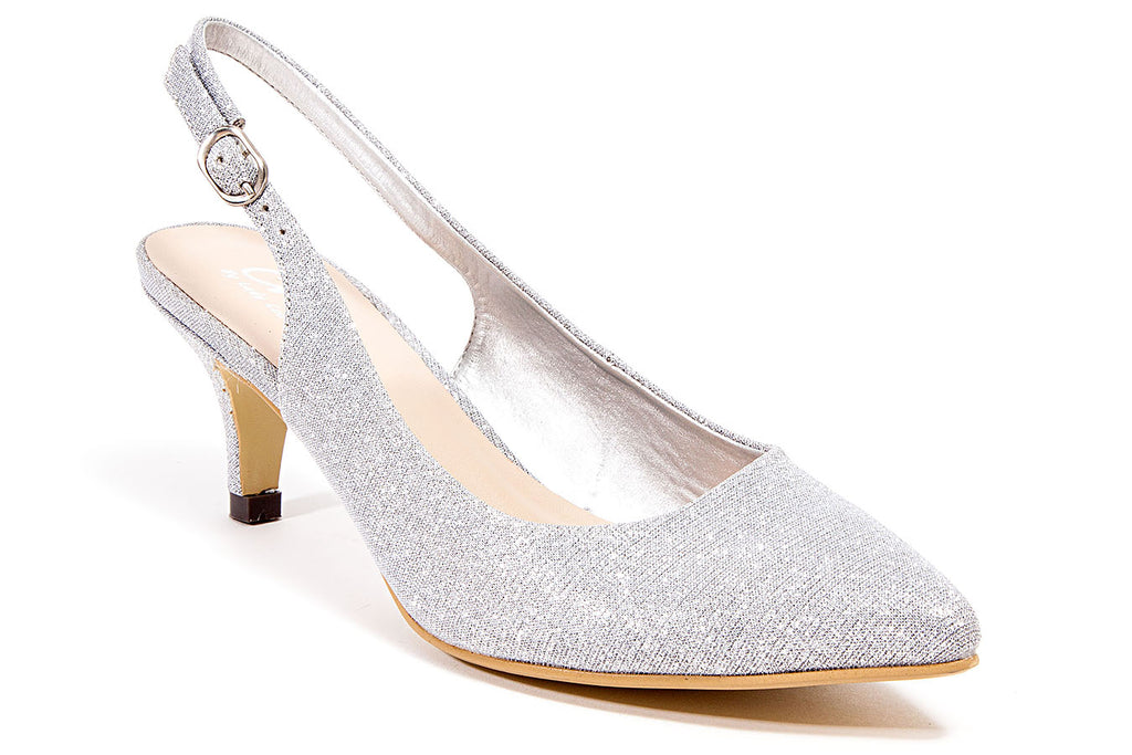 JAX SILVER LADY COUTURE SHOES
