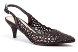 JEWEL BLACK LADY COUTURE SHOES