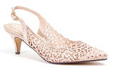 JEWEL CHAMPAGNE LADY COUTURE SHOES