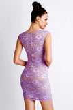 Jaz Painted Purple Baccio Couture Dress