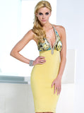 Khloe Baccio Couture Bandage Dress