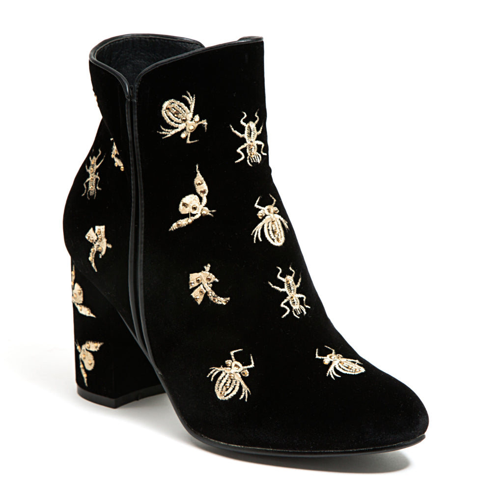 LADYBUG BLACK LADY COUTURE SHOES